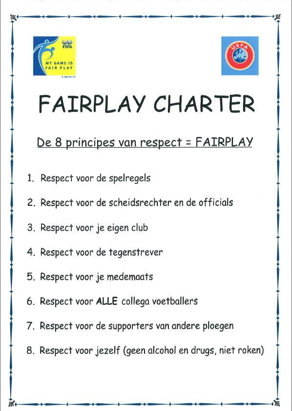 Fair play charter